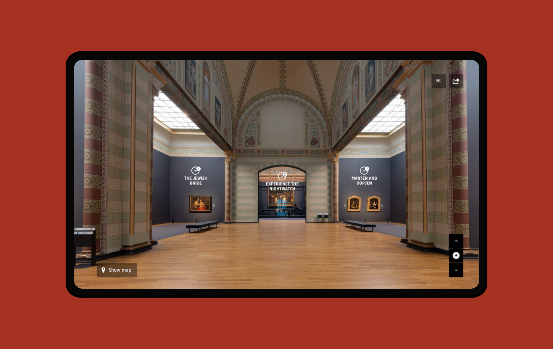A virtual visit to the Rijksmuseum's Gallery of Honour